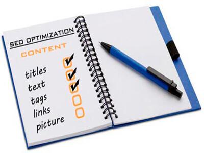 seo оптимизация контента сайта